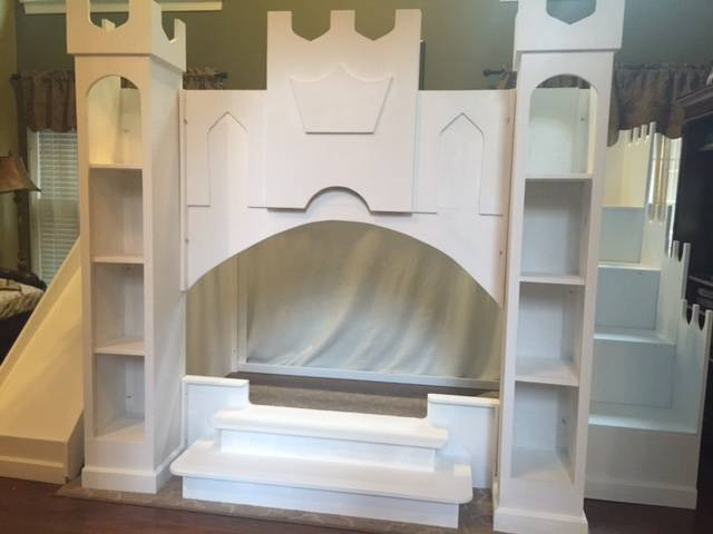 Princess Castle Loft Playhouse Bed Holiday S Custom Kids